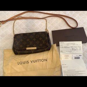 Louis Vuitton FAVORITE PM MONOGRAM